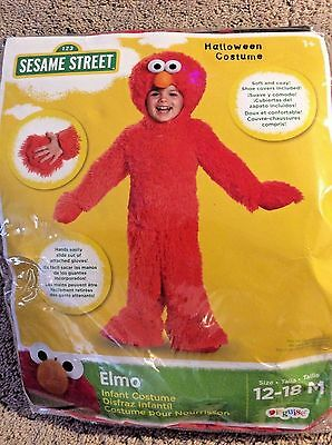 Baby And Toddler Costumes (Plush Elmo Costumes (infant and toddler)
