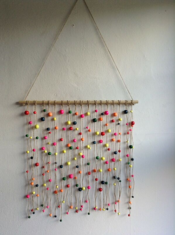 Macrame boho yarn art wall hanging  Home Decore  hand made