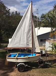 9ft Sailing Boat - Hand Built! Forest Glen Maroochydore Area Preview