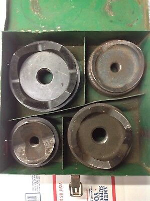 Greenlee 2 2-12 3 4 Round Metal Knockout 7304 Set Punch Die Set 6372