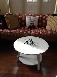 Two tier maple , shabby chic painted coffee table.  Belleville Belleville Area image 4