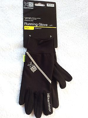 black glove liners ski cycle running gloves