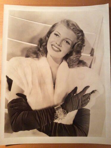 RITA HAYWORTH Original rare 11x14 Gilda publicity photo 1946