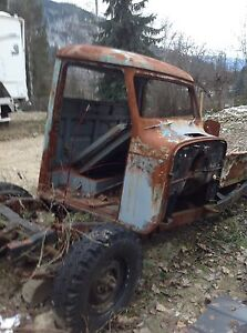 1958 Willys Parts