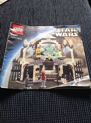 Lego Star Wars Instruction Booklet 4480 Jabba's Palace