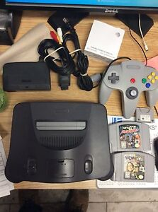 N64 with Games