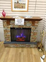 Electric fireplace at Waterloo Restore NEW PRICE