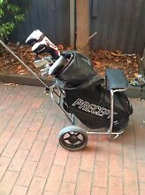 Golf clubs bag and buggy Elwood Port Phillip Preview