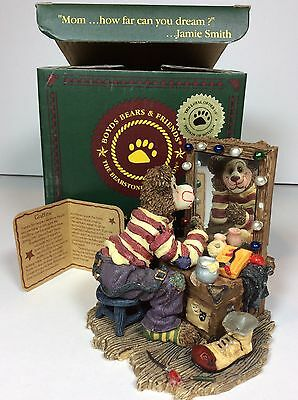 Boyds Clown Bear Graffitie Put On Your Happy Face #2007-71 NIB Bearstone Figure