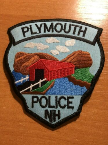 PLYMOUTH PATCH POLICE NH NEW HAMPSHIRE