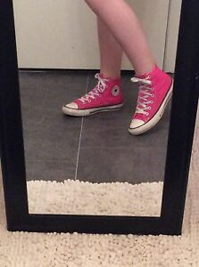Pink size 3 converse