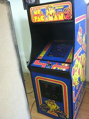 Restored Ms. PacMan Arcade Machine, Upgraded