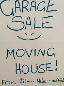 MOVING HUGE GARAGE SALE THURS, SAT SUNDAY ONLY MUST SELL FROM $1- Tingalpa Brisbane South East Preview