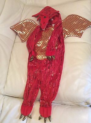 Pottery Barn Kids Baby Red Dragon Halloween Costume 12-24 Months NWT Purim