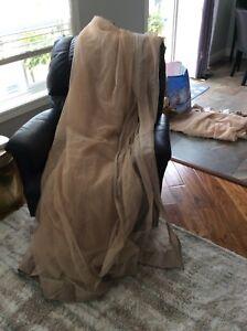 Mosquito netting for 10' x 10' gazebo