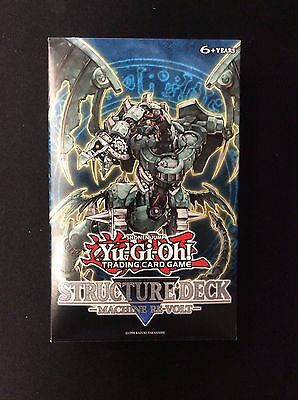 YUGIOH MACHINE RE-VOLT STRUCTURE DECK FACTORY SEALED & FREE SHIPPING