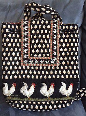 Vera Bradley Chanticleer Mimi Backpack   Very Rare   Used
