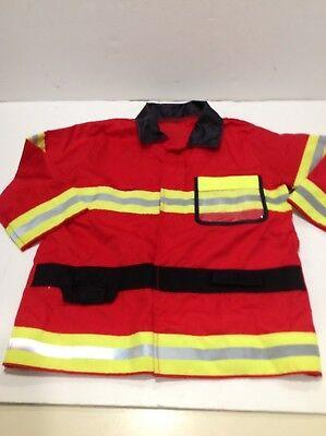 Melissa And Doug Fire Chief Fireman Fire Fighter Kids 3-6 Costume Halloween