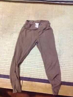 Clette Lilly girl  brown pull up legging size:s7/8 - Girls Brown Leggings