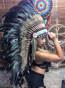 Federhaube War bonnet Coiffes indienne Kopfschmuck Indianerschmuck Miss Java