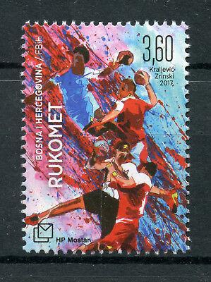 Bosnia & Herzegovina 2017 MNH Handball 1v Set Sports Stamps