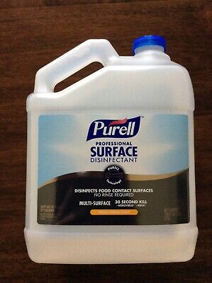 1-gallon-128oz Professional Disenfect 30sec Spray Multisurface Fast Sh