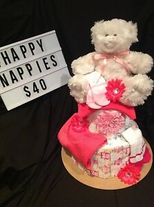 Baby Girl Nappy Cakes Kelmscott Armadale Area Preview