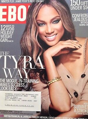 Ebony Magazine Tyra Banks Mogul In Training December 2008 100917Nonrh2
