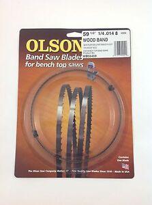 Olson Band Saw Blade 59-1/2