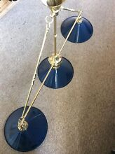 Brass pool/billiard table trio light - price reduction Clayfield Brisbane North East Preview