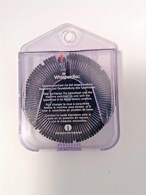 Olympia International Original Typewheel Typewriter Whisper Disc 801 10 798 10
