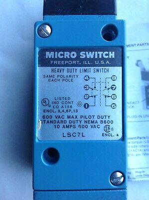 Honeywell Micro Switch Lsc7l