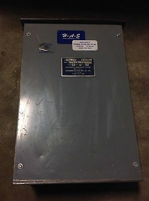 Steelman Electric H-a-s 3ph To 1ph 1hp Static Phase Converter S-1-230-hd H