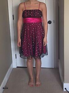 Grad escort dress