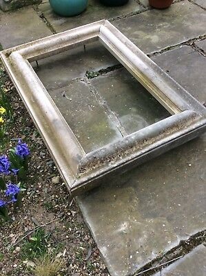 LARGE ARCHITECTURAL EXTERNAL QUALITY RECONSTITUTED STONE FRAME & FIXING BOLTS.
