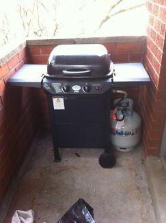 BBQ 2 burner +gas bottle + Cover for sale Centennial Park Eastern Suburbs Preview