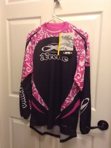 Women's dirt bike shirt new with tags size small