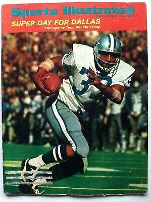1972 DALLAS COWBOYS SUPER BOWL CHAMPIONS DUANE JOHNSON 1-24 Sports Illustrated