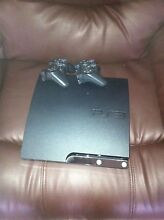 PS3 250gb , 8 Games , 2 original controllers & thrustmaster wheel Fairfield West Fairfield Area Preview