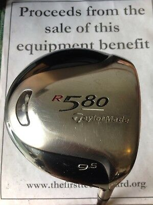 TaylorMade R580 9.5* Driver Stiff Graphite Shaft for sale  Shipping to Canada