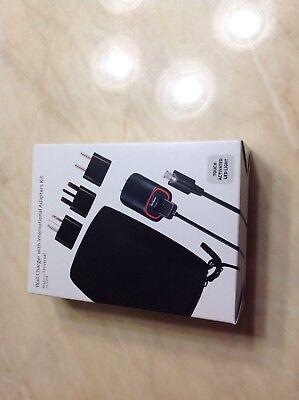 Verizon Charger Kit - VERIZON WALL CHARGER WITH INTERNATIONAL MICRO USB ADAPTERS KIT US UK EUR