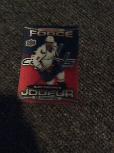 Alex ovechkin franchise force card