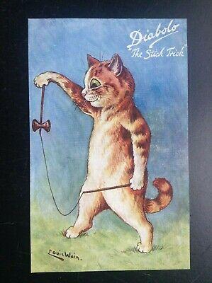 Carte postale Chats Louis Wain Diabolo