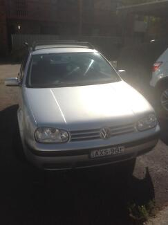 2001 Volkswagen Golf Hatchback Cooks Hill Newcastle Area Preview
