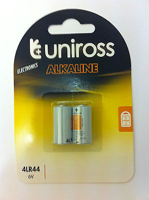 4 x 4LR44 6 volt (4LR44,A544)  BATTERIES by UNiROSS * BARK COLLAR
