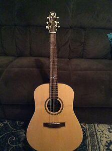 Seagull artist studio acoustic electric guitar North Beach Copper Coast Preview
