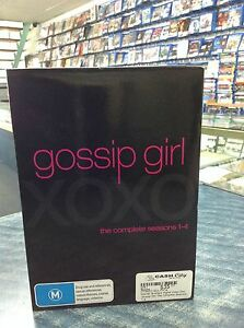 GOSSIP GIRL DVD SEASONS 1 - 4 Guildford Swan Area Preview