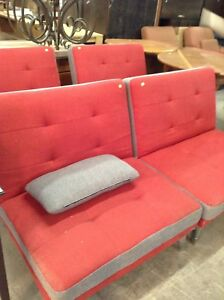 Comfy jumbo size chairs at HFH restore
