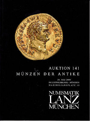 LANZ AUKTION 141 Katalog 2008 Antike Kelten Römer Griechen Kontorniat Völker?141