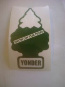 Yonder Mountain String Band... Snow On The Pines Stickers  YMSB SCI WSP Grateful